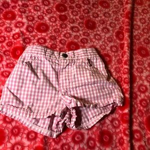 3/$10🎉Disney 3T Pink and White Gingham shorts